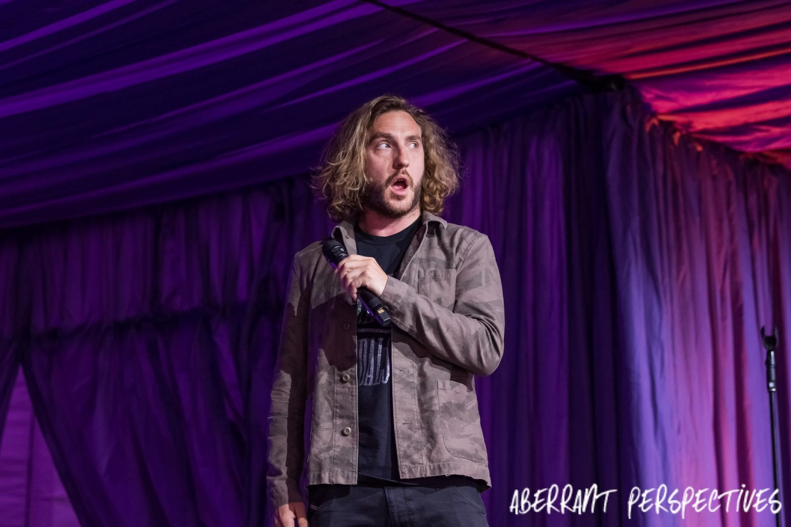 entertainment photographer, Seann Walsh