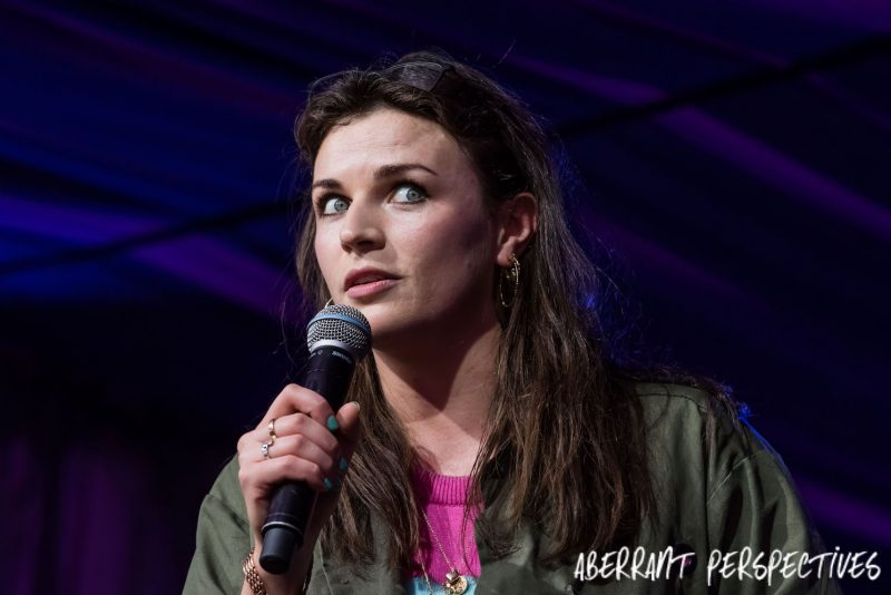 Aisling Bea Comedian – It's All Drunken Fun – Performance Review Latitude Festival 2017