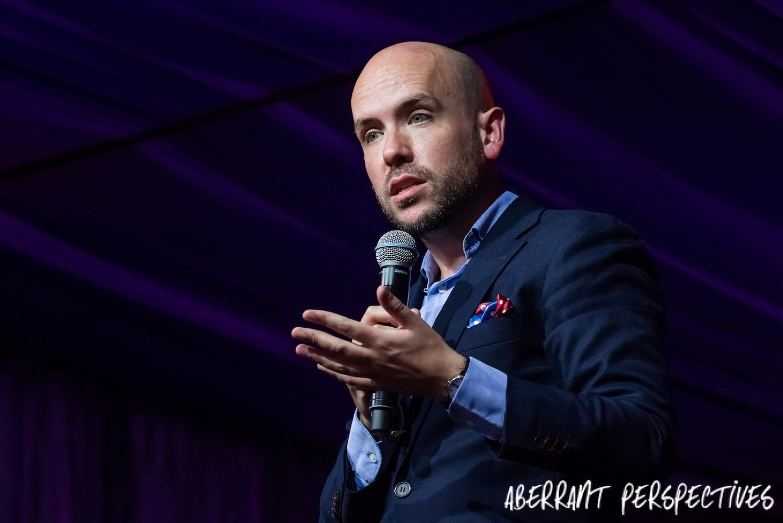Tom Allen comedian Latitude 2017 Comedy Tent