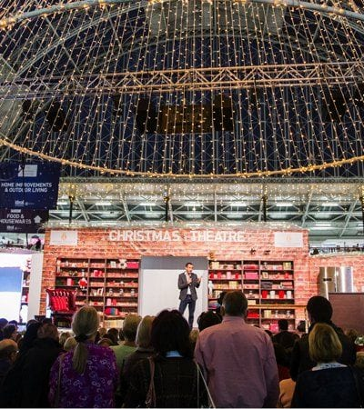 It's Beginning to Look A lot Like Christmas - Ideal Home Show Christmas 2017
