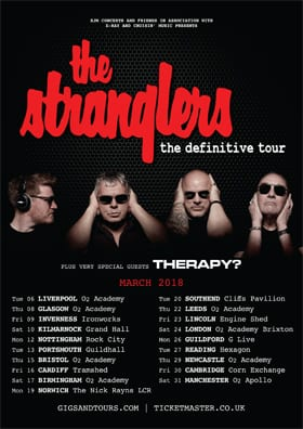 Interview with The Stranglers Baz Warne