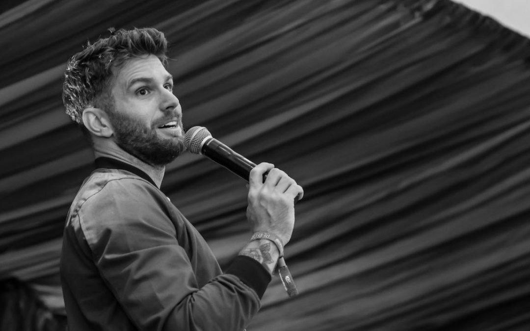 Joel Dommett, Live entertainment photographer, stand up comedy photographer,