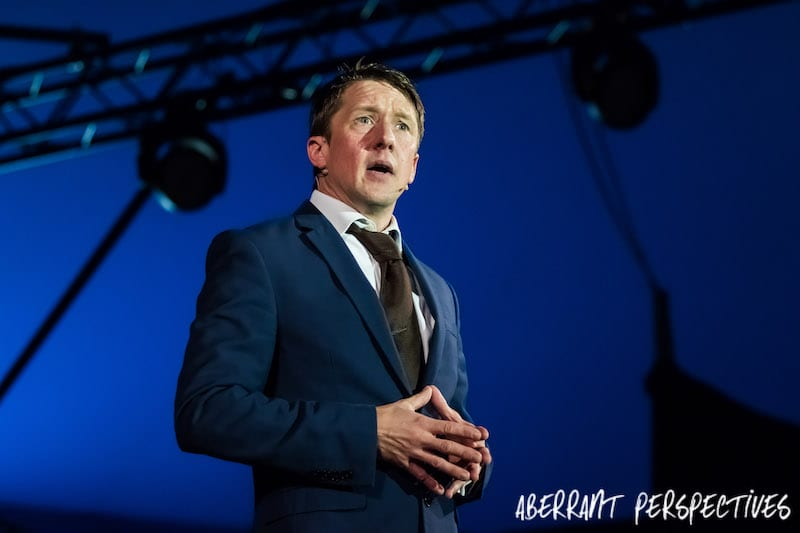 Jonathan Pie – The Satirical Leftie Comedian – Leeds Festival 2017