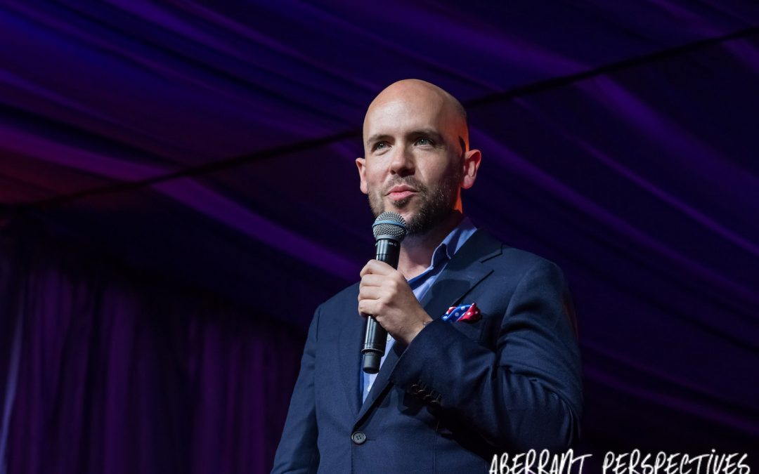 Tom Allen comedian Latitude 2017 Comedy Tent, Tom Allen Absolutely