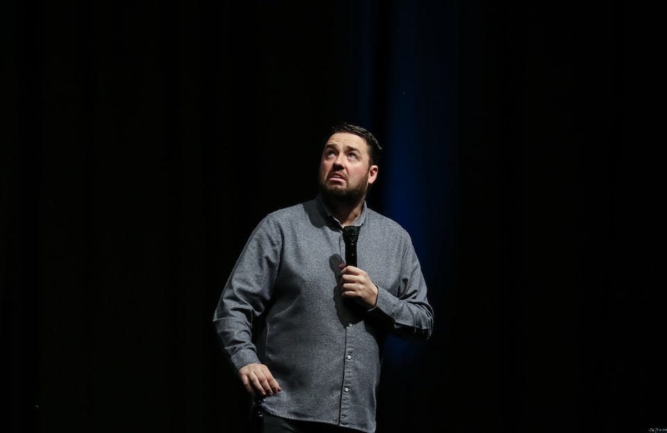 Jason Manford Muddle Class Review, Live entertainment photographer, stand up comedy photographer,
