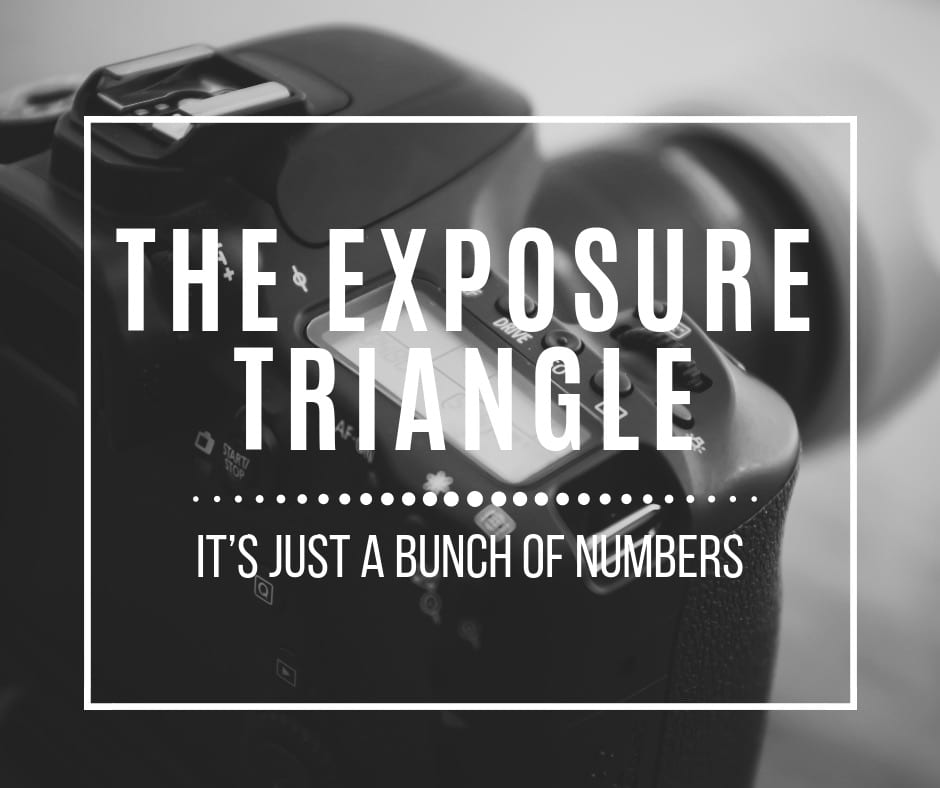 The Exposure Triangle.